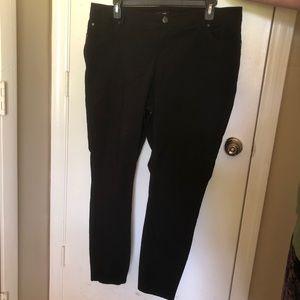 Torrid Skinny Black Trousers